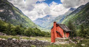 Ein Haus in der Natur
